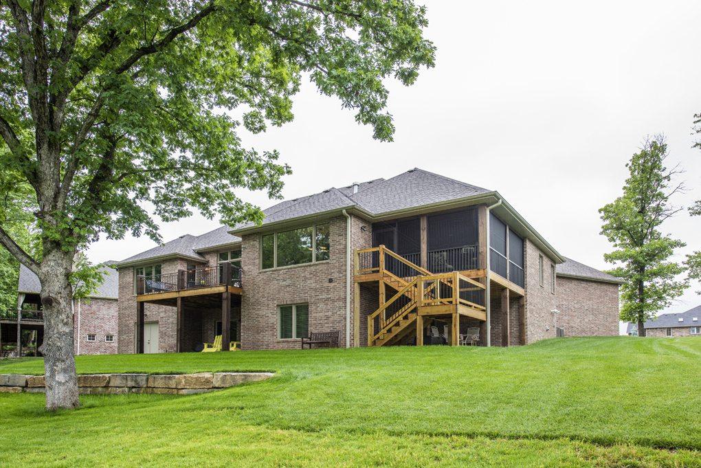 Transitional Millstone Custom Homes