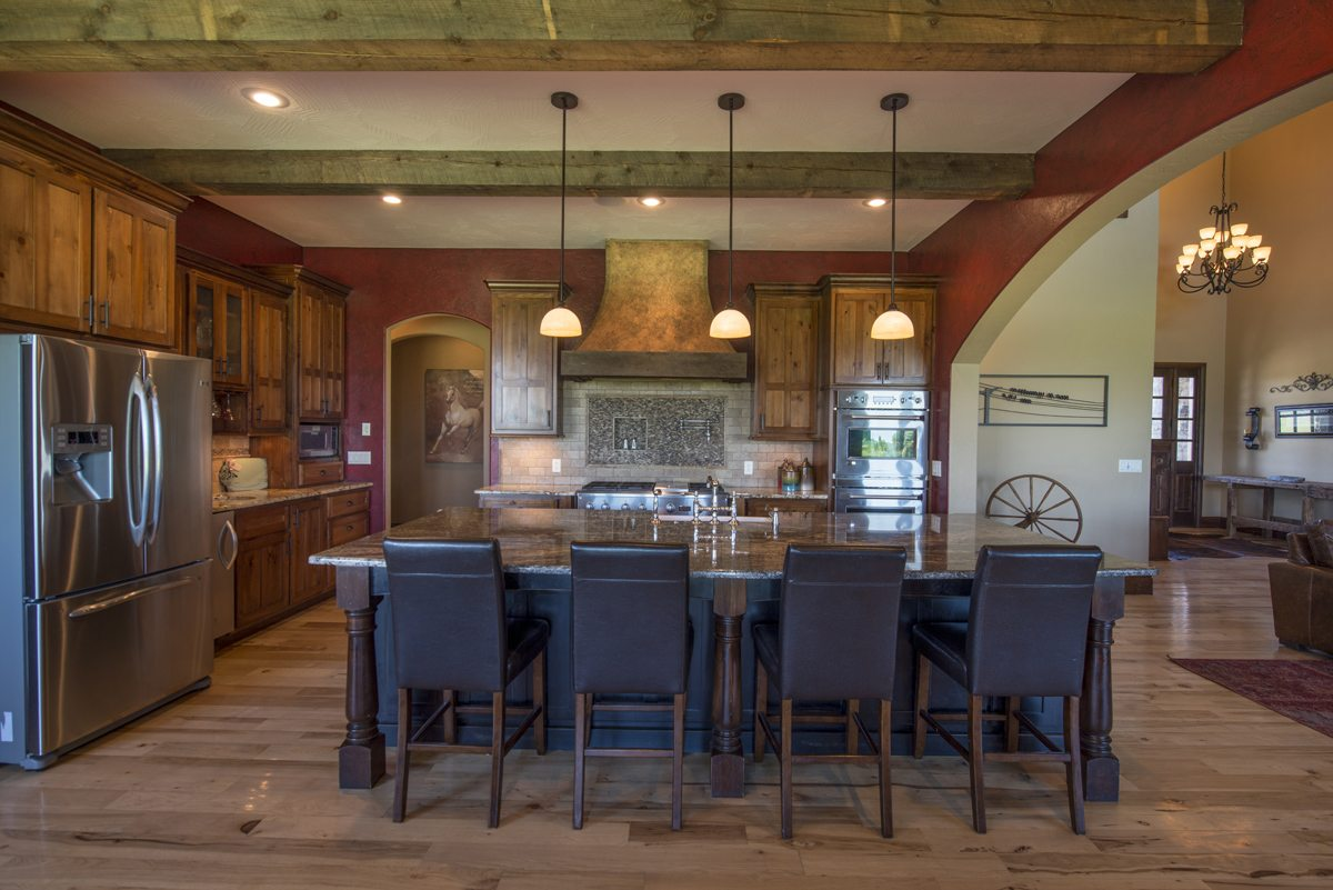 French Country Millstone Custom Homes
