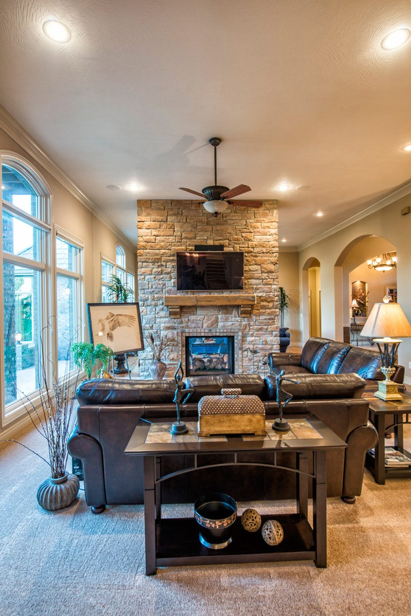 Transitional Millstone Custom Homes