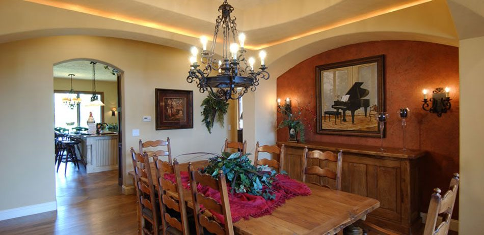 Tuscan Millstone Custom Homes